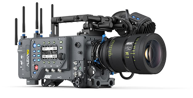 ARRI large-format cinema camera