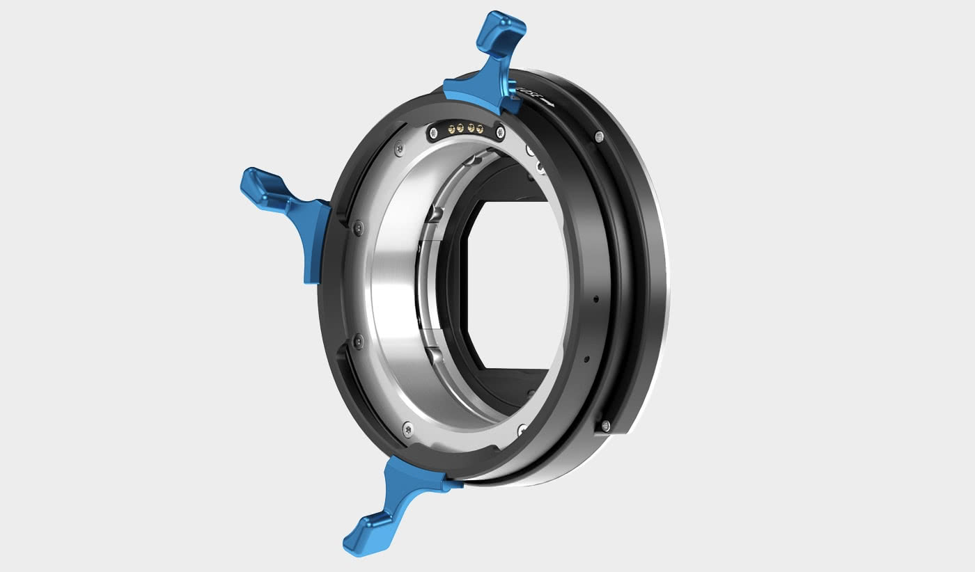 LPL lens mount for large-format sensors