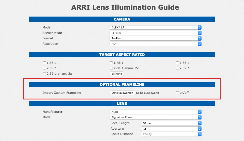 The new large-format camera system | ARRI